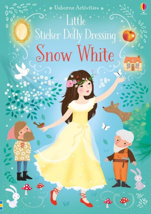 Snow White sticker book 200 stickers 0
