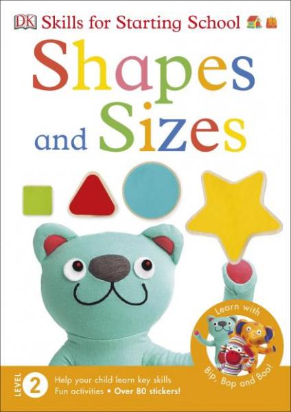 Shapes and sizes carte cu autocolante 0