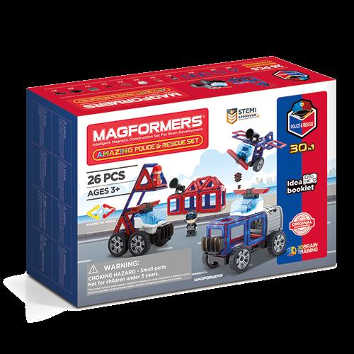 Magformers masini de interventie 0