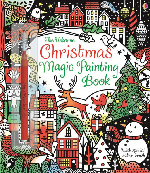 Magic Painting Book - Christmas 0