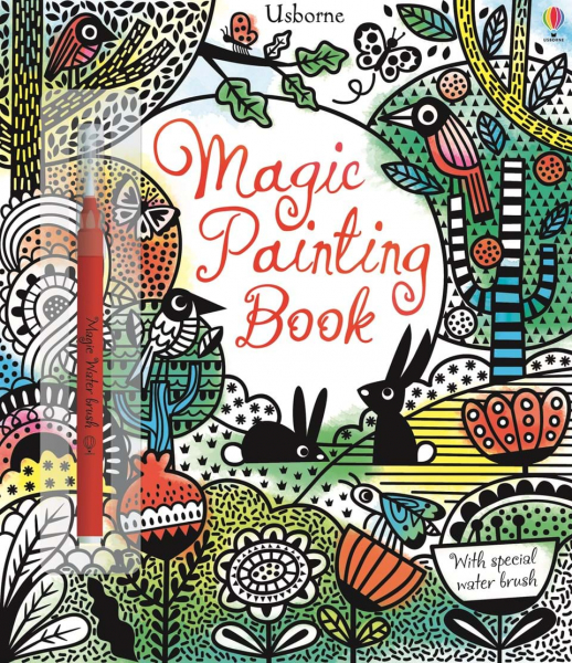Magic painting Book - carte de pictat cu apa 0