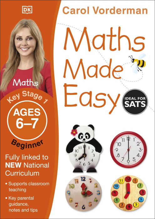 Maths Made Easy Ages 6-7 Key Stage 1 Beginner 0
