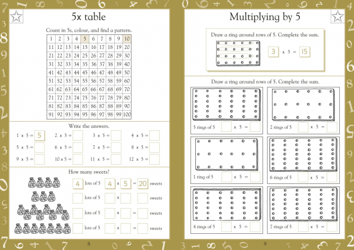 Maths Made Easy Times Tables Ages 5-7 Key Stage 1 1