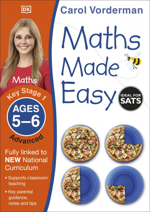 Maths Made Easy Ages 5-6 Key Stage 1 Advanced 0
