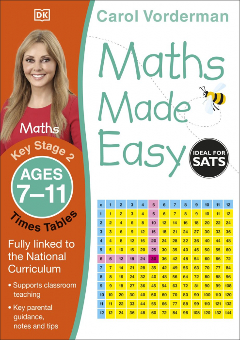 Maths Made Easy Times Tables Ages 7-11 Key Stage 2 0