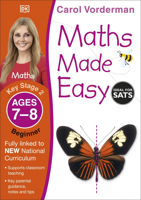 Maths Made Easy Ages 7-8 Key Stage 2 Beginner 0