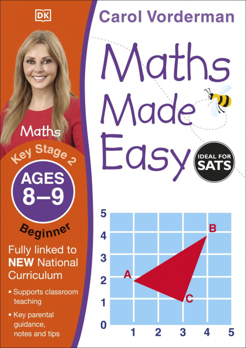 Maths Made Easy Ages 8-9 Key Stage 2 Beginner [0]