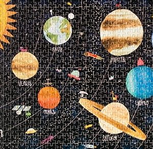 Micro puzzle cosmos 600 piese 1