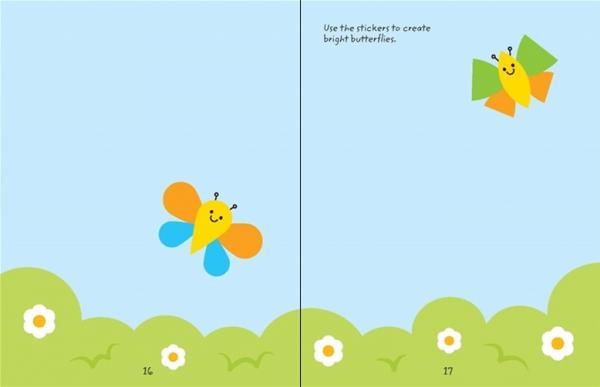 Easter Shape Sticker carte cu autocolante [2]