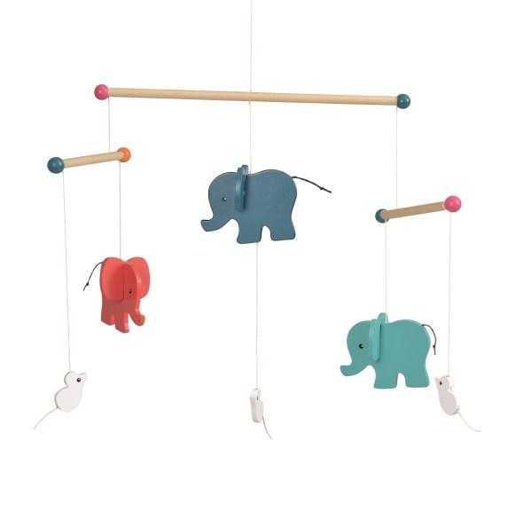 Elefanti decor mobil lemn [0]