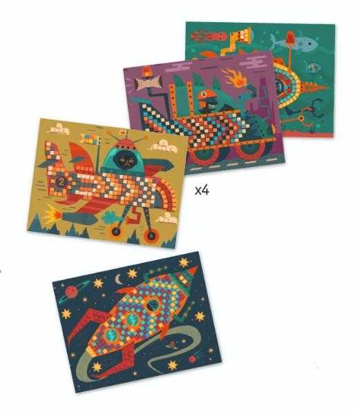 Mozaic Djeco, La volan [1]