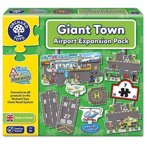 Puzzle gigant de podea Aeroport (9 piese) GIANT ROAD EXPANSION PACK AIRPORT 0