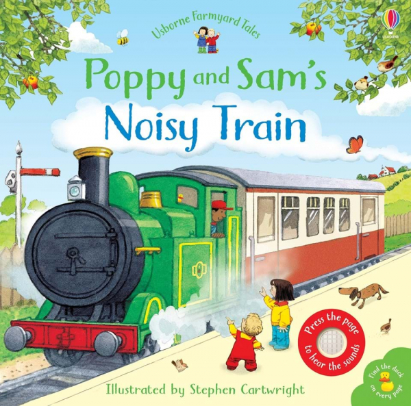 Poppy and Sam's noisy train 0