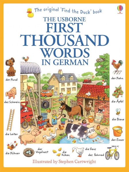 First thousand words in German 0