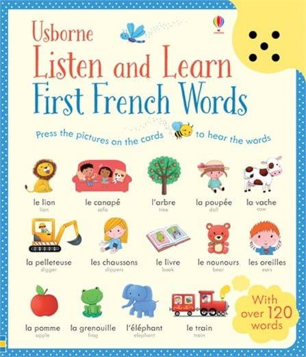 Listen and learn first French words 0