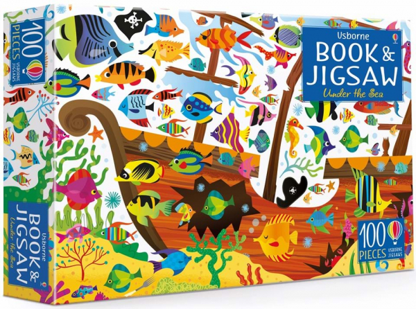 under the sea book and puzzle 0