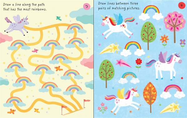 Little Children's Unicorns Pad 2