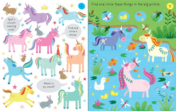 Little Children's Unicorns Pad 1