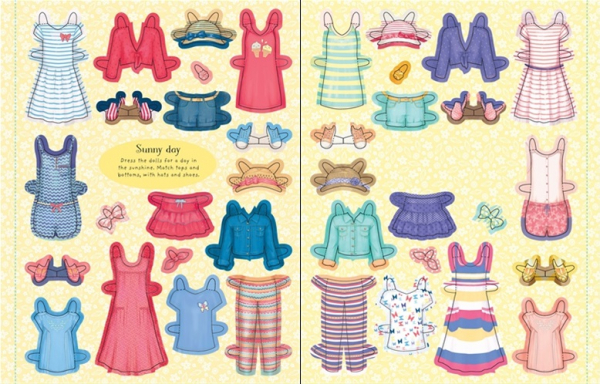 Paper Dolls Press-out 2