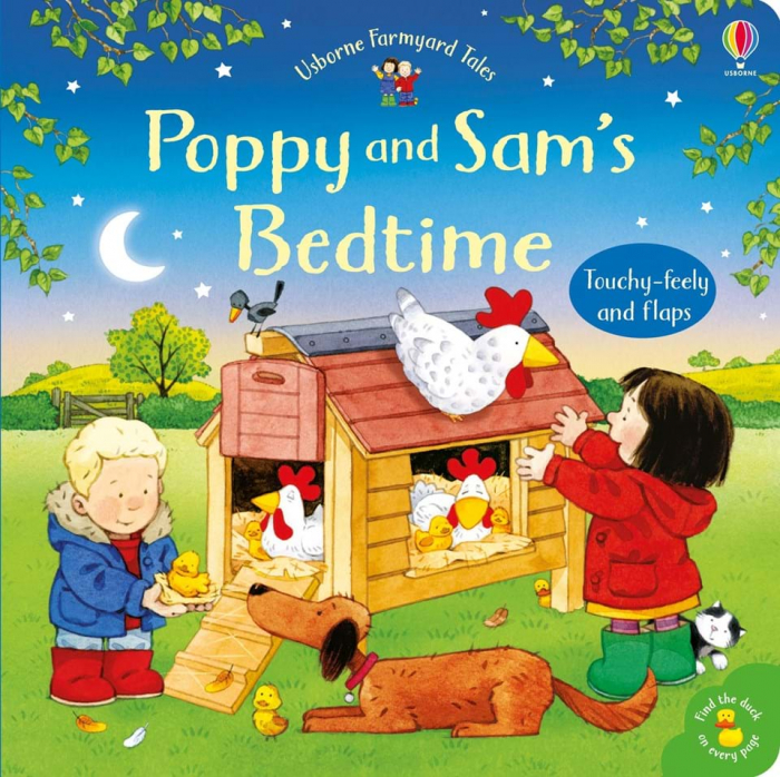 Poppy and Sam's bedtime 0