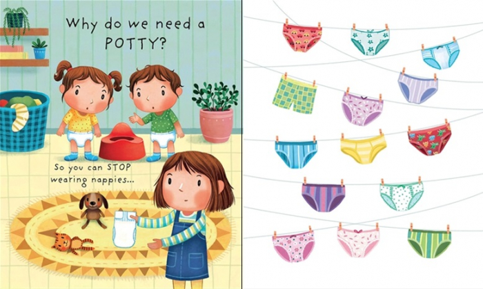 Why do we need a potty? [2]