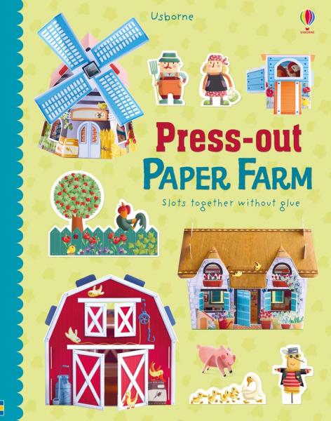 Press-out Paper Farm 0
