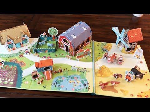 Press-out Paper Farm 1