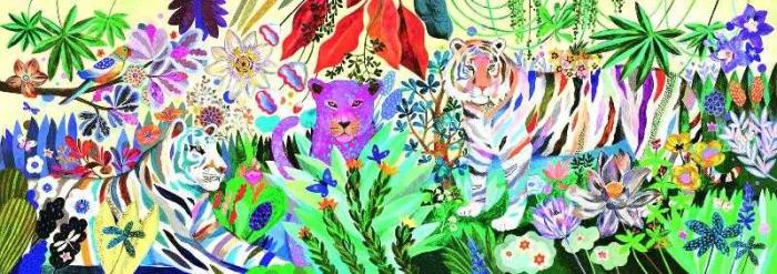 Puzzle Djeco tigrii curcubeu [0]