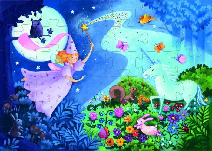 Puzzle Djeco Zana si unicornul [1]