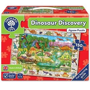 Puzzle in limba engleza Lumea dinozaurilor (150 piese) [0]