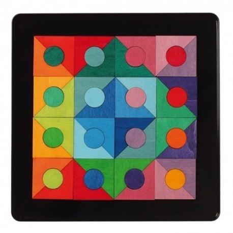 puzzle magnetic cercuri si patrate 0