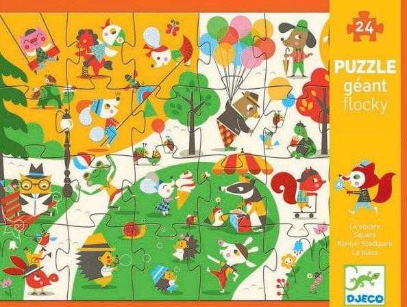Puzzle gigant In parc 0