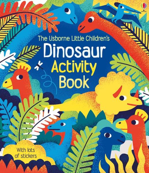 Little children's dinosaur activity book 0