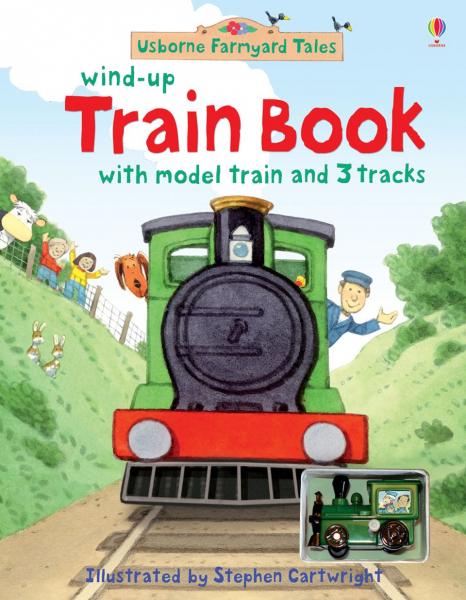 Farmyard Tales wind-up train book 0