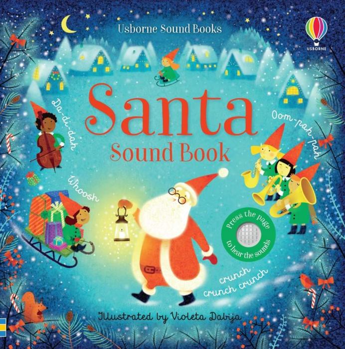 Santa Sound Book Carte cu sunete Mos Craciun 0