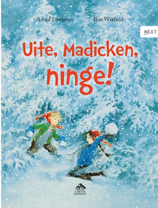 Uite, Madicken, ninge! Astrid Lindgen 0
