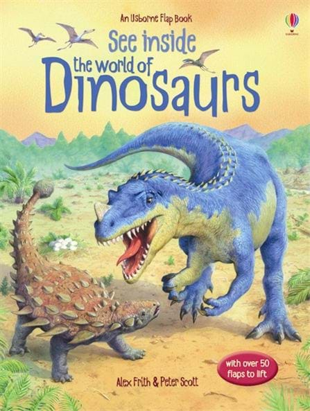 See inside the world of dinosaurs 0