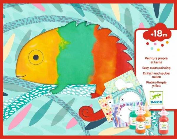 Set creativ Bebe apasa si picteaza 0