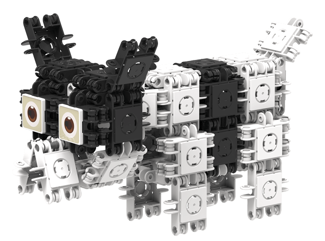 Set de construit Animale prietenoase 79 piese [2]