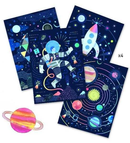 Joc creativ de razuit Cosmos 1