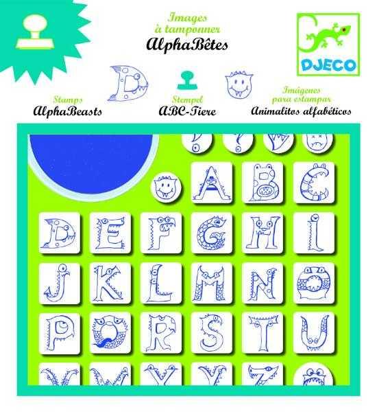 Set stampile alfabet 0