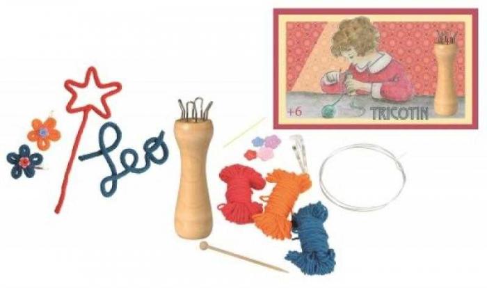 Tricotin-set creativ de tricotat 0