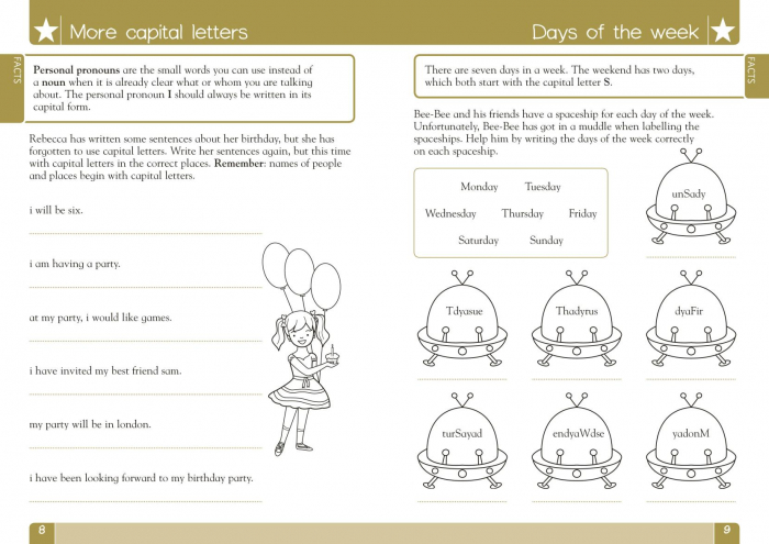 Spelling, Punctuation and Grammar Made Easy Ages 5-7 Key Stage 1 [1]