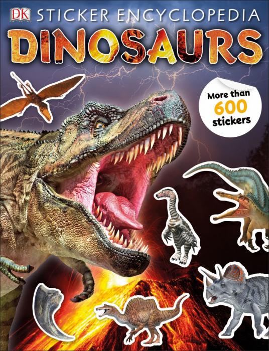 Sticker Encyclopedia Dinosaurs 0