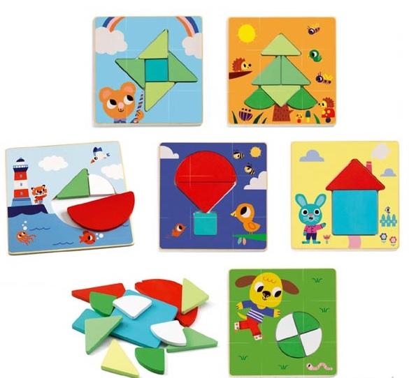 Tangramini, joc educativ Djeco [2]