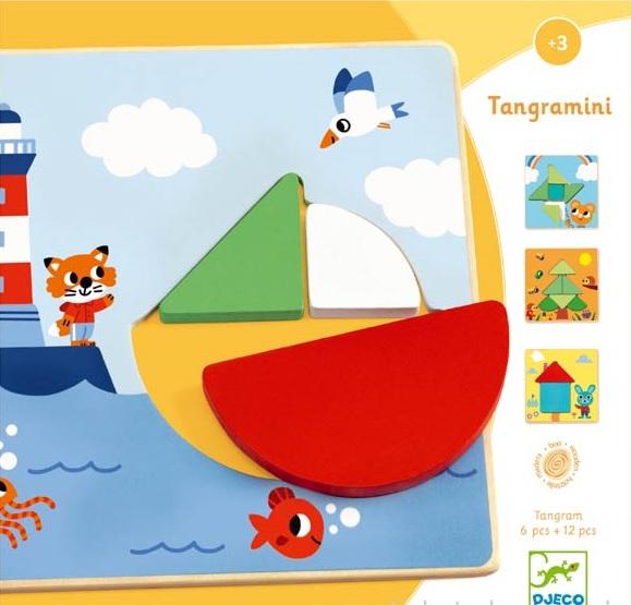 Tangramini, joc educativ Djeco [0]