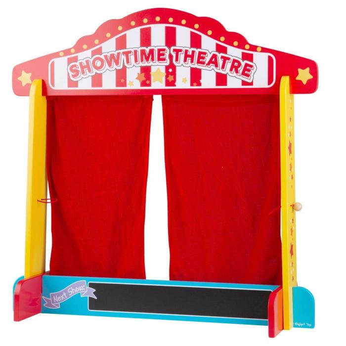 Teatru de papusi din lemn [0]