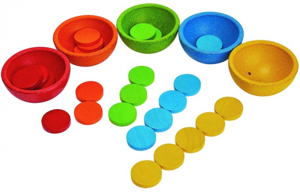 Sort and count cups 1