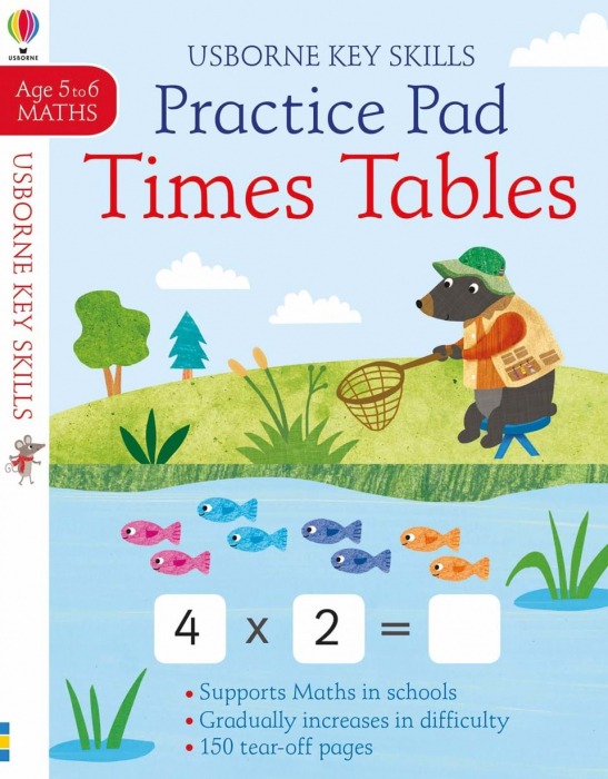 Times tables practice pad 5-6 caiet inmultire 0