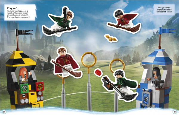 LEGO Harry Potter Ultimate Sticker Collection 1000 stickers 2